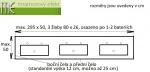 M.E. sro_umyvaci trojzlab Flexible47_80x26 cm