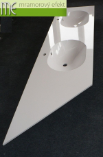 ME sro_umyvadlova deska Flexible 60 s ukosem_219,5x55cm_2x Mango