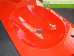 ME sro_umyvadlova deska Waschtisch Flexible60_3 x MANGO52_cervena RAL 3020
