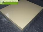 M.E. sro_podumyvadlova deska_Waschtischplatte nach Mass aus Mineralguss_60x50 cm_slonova kost RAL 1014
