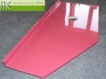 M.E. sro_podumyvadlova deska Flexible47_Waschtischplatte nach Mass aus Mineralguss_90x40 cm_RAL 4002