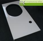 M.E. sro_podumyvadlova deska Flexible60_Waschtischplatte nach Mass aus Mineralguss_125x60 cm s vyrezem pro zapustne umyvadlo