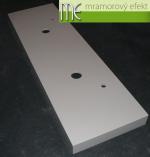 M.E. sro_podumyvadlova deska_Waschtischplatte nach Mass aus Mineralguss_180x55 cm_2 umyvadla_10 cm cela