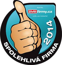 Získali jsme ocenění společnosti www.zivefirmy.cz