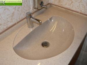 Státní zámek Sychrov_umyvadlova deska Flexible 47_umyvadla fjord 50x37_granit butterscotch