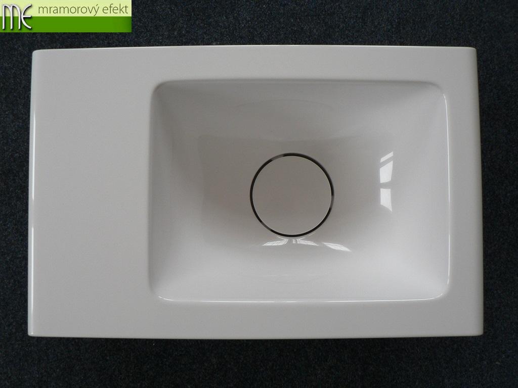 Umyvadlo na WC - Polar 46x29 cm