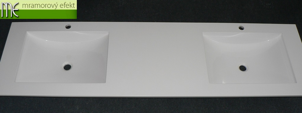 Dvojumyvadlová deska s umyvadly ARCTIC
