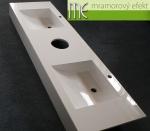 M.E. sro_umyvadla deska Flexible 60_2 x umyvadlo massive 42x37_otvor pro vhoz papirovych rucniku