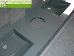 M.E. sro_umyvadlova deska Flexible 60_180x60 cm_umyvadla Massive 42x37cm_RAL 7016