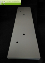 M.E. sro_podumyvadlova deska pro dve umyvadla_Waschtischplatte auf Mass fur zwei Becken_210x55 cm_8cm cela