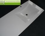 M.E.sro_umyvadlova deska_2 x umyvadlo ARCTIC_Waschtisch auf Mass_2 x ARCTIC Becken_Mineralguss