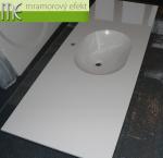 Umyvadlova deska Flexible 60_175x60cm_umyvadlo Mango 52x37x14_Waschtisch auf Mass_Mango Waschbecken