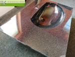 ME sro_umyvadlova deska Waschtisch Flexible60_1 x Fjord50_cerny granit obsidian