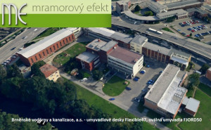 Brněnské vodárny a kanalizace as_umyvadlové desky Flexible47_oválná umyvadla FJORD50