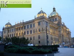 Umyvadlove desky Flexible60 do Historicke budova Narodniho muzea (Vaclavske namesti, Praha)