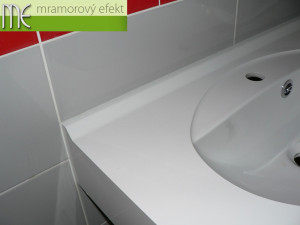 Brünner Wasserwerk und Kanalisierung A.G., Brno - Pisárky, weisse Waschtische Flexible47, Ovalbecken Fjord50